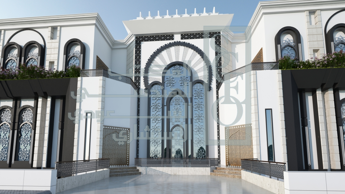 Al saudi consult engineering office exterior design for Home architecture planning engineering consultants